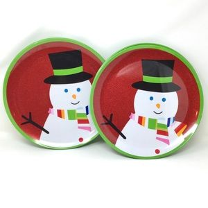 SALE❗️SNOWMEN  WINTER  DINNER PLATES
